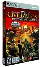 Civilization IV 4 Beyond The Sword Mac New in Box