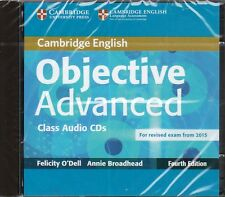 Cambridge OBJECTIVE ADVANCED CAE Class Audio CDs Fourth Ed for Exam from '15 NEW