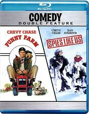 FUNNY FARM / SPIES LIKE US (Chevy Chase) -  Blu Ray - Sealed Region free