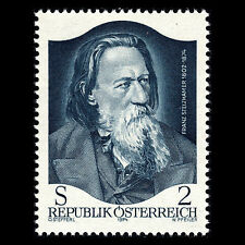 Austria 1974 - 100th Anniversary of the Death of Franz Stelzhamer - Sc 998 MNH