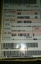 DA41-00395D SAMSUNG REFRIGERATOR LED PCB DISPLAY  *NEW PART*