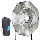 """70cm 28"""" Collapsible Beauty Dish Octagon Softbox Bowens Mount for Bowens godox"""