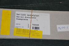 BOSCH NEFIT 75045 DÜSENPLATTE DICHTUNG BRENNERDÜSEN HR21 GAS/LUCHT VERDEELPLAAT