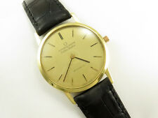 Vintage UNIVERSAL GENEVE GOLDEN SHADOW AUTOMATIC 18K SOLID GOLD ULTRA SLIM WATCH