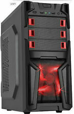 Custom Built Fast 8GB DDR3 1TB Gaming Desktop PC Computer System Quad Core New