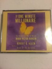 The One Minute Millionaire Enlightened Way to Wealth 3 Discs Read by the Authors