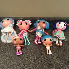 Lalaloopsy Full Size Dolls Lot of 4  and 2 Small Size Dolls