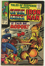 Tales of Suspense #94 VG Captain America IRON MAN 1st Appearance of MODOK KIRBY