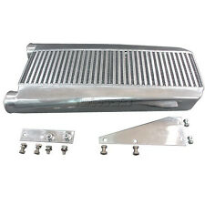 "3.5"" Core Intercooler + Mounting Brackets For 79-93 Fox Body Ford Mustang V8 5.0"