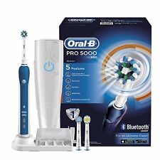 Braun Oral-B Pro 5000 CrossAction cepillo de dientes eléctrico + Conectividad Bluetooth