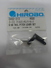Hirobo 0402-313 Heckrotor Ansteuerung Umlenkhebel Set S-30 Tail Pitch Lever Set