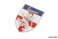 St. George shield metal badge emblem Vespa GT LX VBB Sprint Super Rally SS GS PX