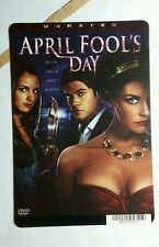 APRIL FOOL'S DAY JOSH HENDERSON PHOTO MINI POSTER BACKER CARD (NOT a dvd movie )