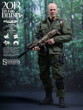 "Hot Toys G.I. JOE Retaliation JOE COLTON 12"" Figure 1/6 Scale Bruce Willis"