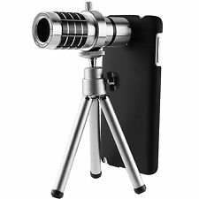12X Zoom Optical Telescope Camera Lens Tripod Kit Case Samsung Galaxy Note 3
