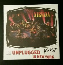 Krist Novaselic Nirvana Signed Unplugged in NY Cover PSA/DNA Authentic Autograph