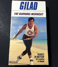 Gilad Bodies in Motion Hawaii Fat Burning Workout VHS Exercise Video 1990 45 Min