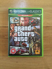 Grand Theft Auto Iv (gta 4) para Xbox 360 * Manual incluido sin mapa * Classics