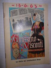 Grizzano Visconti Paese di sogno e di realtà 1963 cc324