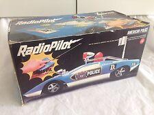 Large REEL Lamborghini Police - Vintage Radio Control - Nikko Shinsei Tamiya Cox