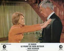 ANGIE DICKINSON LEE MARVIN  POINT BLANK 1967 VINTAGE LOBBY CARD ORIGINAL #1