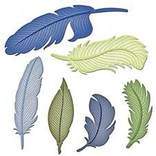 Spellbinders Nestabilities Dies - Feathers 6 Templates S4-428