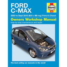 [4900] Ford C-Max 1.6 1.8 2.0 Petrol 1.6 1.8 2.0 Diesel 03-10 (53-60 Reg) Haynes
