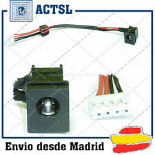 CONECTOR DC JACK  TOSHIBA A100, A105 (With cable)