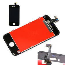 TOUCH SCREEN + LCD DISPLAY RETINA + FRAME PER APPLE IPHONE 4 VETRO SCHERMO NERO
