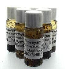 Graveyard Dirt Herbal Infused Magickal Protection Oil