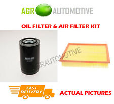 PETROL SERVICE KIT OIL AIR FILTER FOR LAND ROVER DISCOVERY 3.5 155 BHP 1989-94