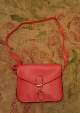 Nathalie Andersen Red SATCHEL-STYLE CROSSBODY /SHOULDER BAG bnwot