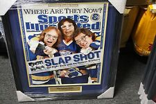 The Hanson Brothers Autographed Slap Shot Sports Illustrated 16x20 Photo JSA
