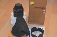 Nikon DX Nikor 18-105mm F/3.5-5.6 ED VR zoom lens, boxed, mint,  x-display