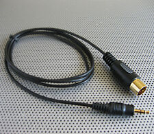 iPod iPhone MP3 3.5mm Earphone to KENWOOD Headunit 13Pin Port Audio Cable 1900