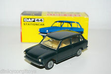 LION CAR DAF 44 STATION STC VARIOMATIC DARK GREEN VN MINT BOXED RARE SELTEN!
