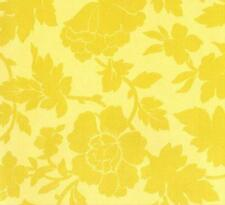 Anna Griffin Carolina Stencil Floral in Gold Fabric 28350-3 1yd 100% Cotton