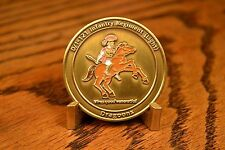 """US Army D1-121 Infantry Regiment (Light) """"DRAGOONS"""" OEF Challenge Coin"""
