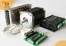 Free ship!1Axis Nema34 Stepper Motor1700ozin 12Nm 6A 3.6V+DRIVER+POWER SUPPL CNC