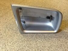 Mercedes C Class W202 W210 OS Right Drivers Door Mirror Cover Silver 1997