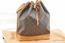 Authentic Louis Vuitton Monogram Noe Shoulder Bag M42224 LV T609