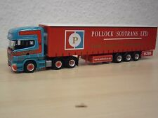 "Herpa - Scania R`09 TL GaPlSZ ""Pollock Scotrans LTD"" (UK) - Nr. 152983 - 1:87"