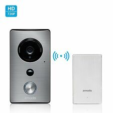 Zmodo Greet -WiFi Video Doorbell with Zmodo Beam Smart Home Hub and WiFi