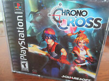 Chrono Cross PlayStation 1 PS1 US Version No Scratches Black Label Complete