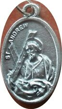 Saint St. Andrew Medal + Apostle, first to 'find' Jesus + Scotland Greece Russia