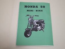 HONDA  Monkey CZ100 parts list English edition New Japan