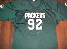 Majestic Play Football NFL NFC Green Bay Packers Reggie White 92 Jersey XL