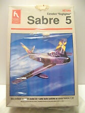 CANADAIR Dogfighting SABRE 5 AIRPLANE JET MODEL KIT Hobby Craft HC1386