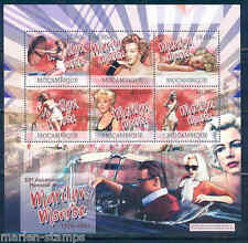 MOZAMBIQUE 2012 '50th MEMORIAL ANNIVERSARY OF MARILYN MONROE' SHEET MINT NH