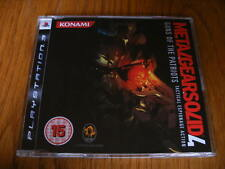 Metal Gear Solid 4 PROMO – PS3 (Full Promotional Game) PlayStation 3